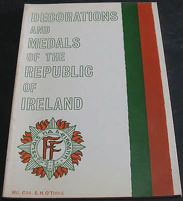 Decorations and Medals of The Republic of Ireland WG. CDR. E. H. O'Toole