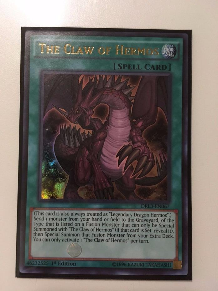 Yugioh The Claw of Hermos DRL3-En067