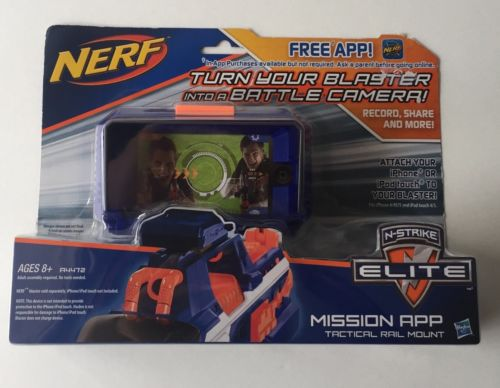 Nerf N-Strike Elite Mission App Tactical Rail Mount NEW