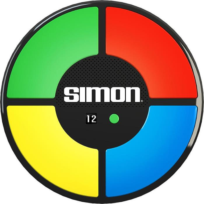 SIMON GAME THINK FAST