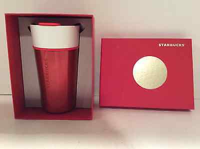 Starbucks 16 oz. stainless steel, insulated 2015  travel mug  (NIB)