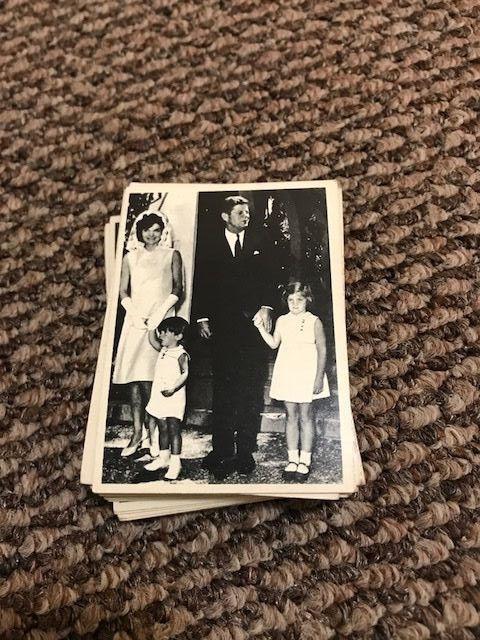 John F. Kennedy Trading Cards