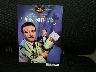 MOVIE BACKER CARD, THE PINK PANTHER, PETER SELLERS,  EXCELLENT CONDITION