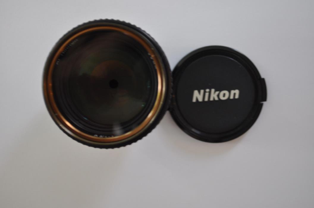 Nikon NIKKOR 85mm f/1.8 AF Lens