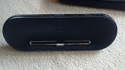 PHILIPS SBD7500/37 Speaker DOCK FOR IPOD WITH TRAVEL CASE- WORKS