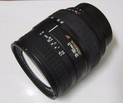Sigma Zoom 28-105mm 1:3.8-5.6 Aspherical IF Camera Zoom Lens for Nikon *NICE*