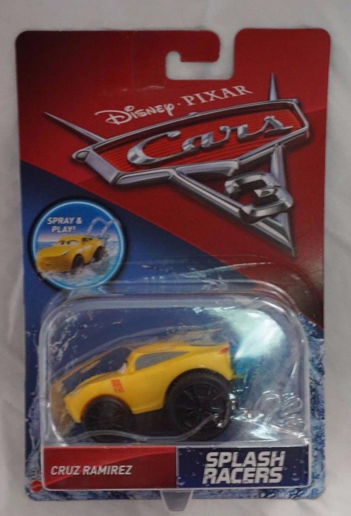 Disney Pixar Cars 3 Splash Racers Cruz Ramirez NEW Mattel 2017 Ships In A Box