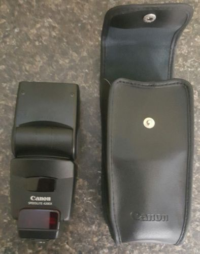 CANON Speedlite 420 EX 420EX Shoe Mount Flash EOS EF