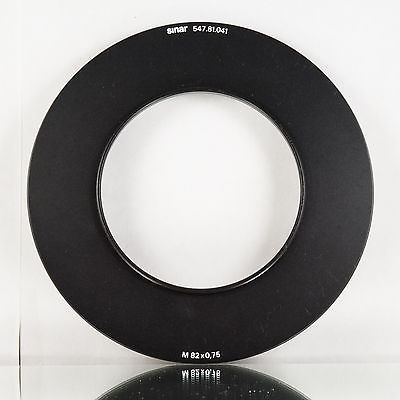 SINAR M82x0.75 filter holder adapter 547.81.041