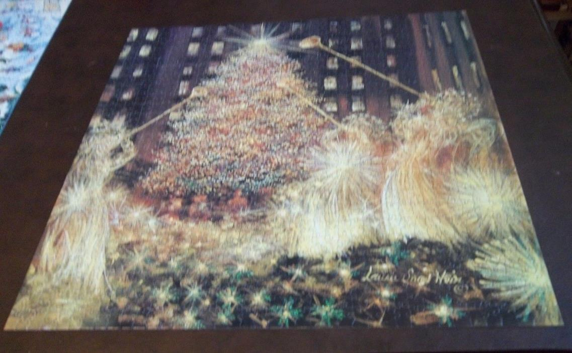 AB 1000 piece puzzle:  Christmas at Rockefeller Center. Puzzle is comp[lete.