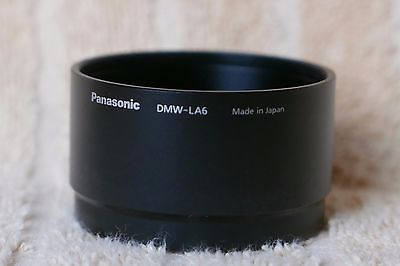 Panasonic DMW-LA6 lens/filters adapter for LX5 camera.Mint.