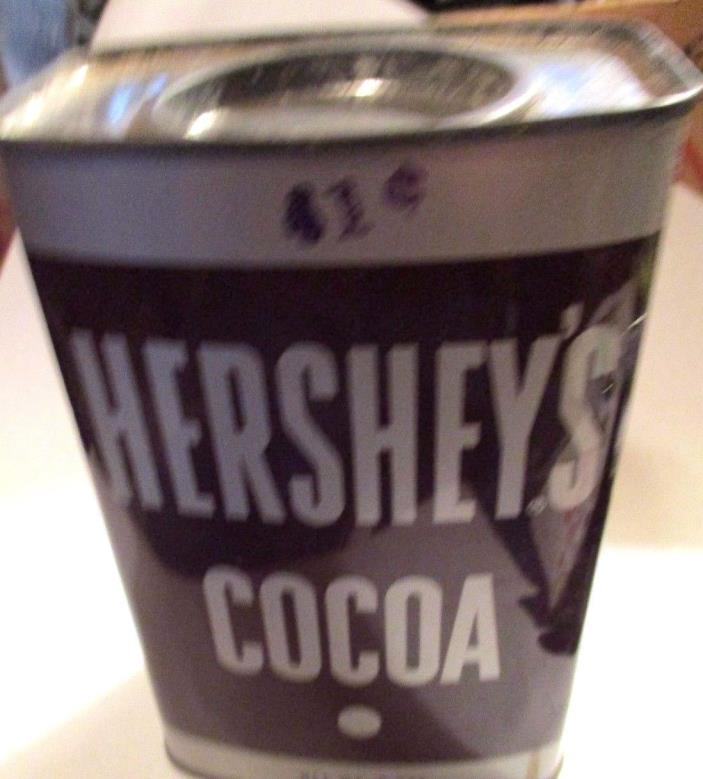 8oz=All Tin=No Barcode=HERSHEY's COCOA CAN- 41¢-- Clean Ends =Pennsylvania