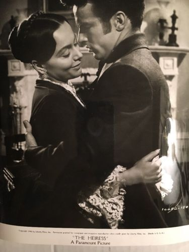 Vintage 1948 THE HEIRESS Original Photo  Montgomery Clift  Olivia de Havilland
