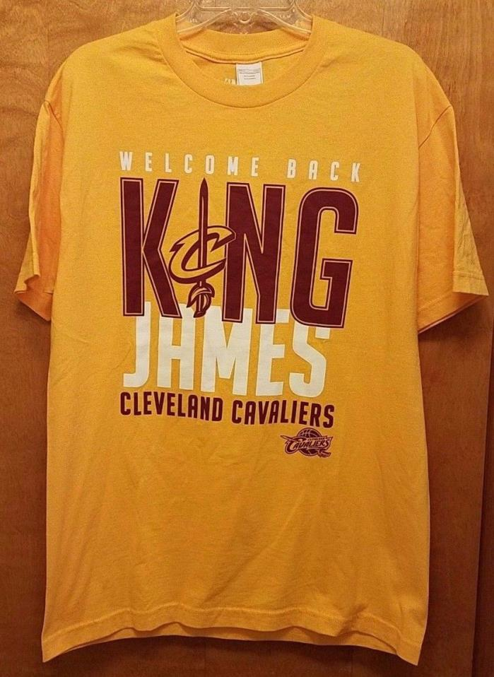 NEW Lebron Welcome Back King James Cleveland Cavaliers T-Shirt LARGE