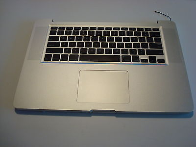 MacBook Pro A1286 Mid 2010 Keyboard Palmrest Touchpad Trackpad 069-6153-09 GD A