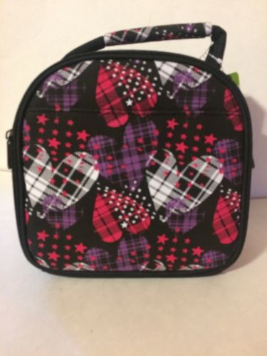 Fit & Fresh Gabby Insulated Lunch Bag, Hearts On Fire