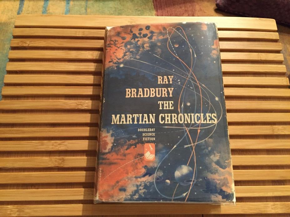 THE MARTIAN CHRONICLES, Ray Bradbury (1950) *True 1st Edition*   SIGNED*