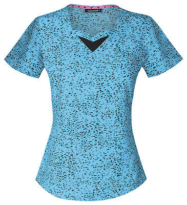 HeartSoul Sweetheart Neck Top 20908 You've Been Spotted Turquoise YOTQ