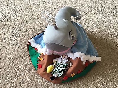 Jonah and the Whale Plush Toy, Reversible