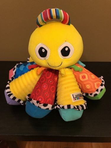Lamaze Musical Octotunes Octopus, Yellow, Baby Toy
