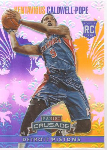 Kentavious Caldwell-Pope Crusade 13-14 #81 Blue Crusade Prizm Rookie Pistons