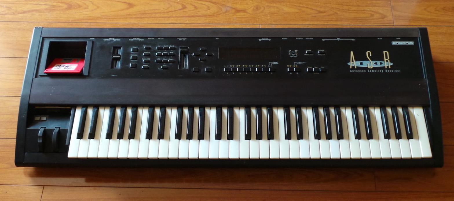 Ensoniq ASR-10 Sampler keyboard Workstation ASR10 100% WORKS.
