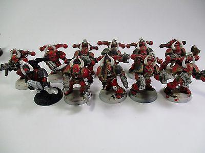 Warhammer 40k Chaos Space Marines OOP Marines X11