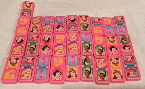 Disney Princess Replacement or Craft Dominoes