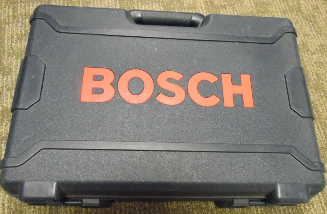 CASE ONLY * BOSCH Cordless Drill Kit 32609,32612,32614,32618 * CASE ONLY wMANUAL