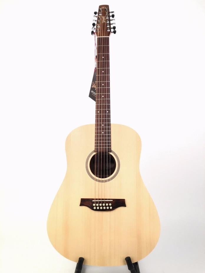 Seagull Walnut 12 Acoustic Guitar-Natural w.Gig Bag