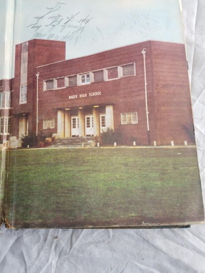 Baker High School Yearbook MCMLXVII Arrowhead