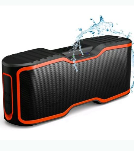 AOMAIS Sport II Portable Wireless Bluetooth Speakers 4.0 with Waterproof IPX7...