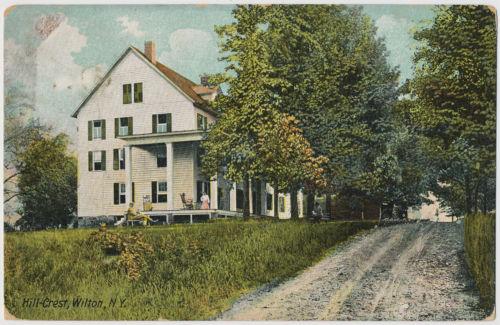 Hill-Crest, Wilton, New York 1911
