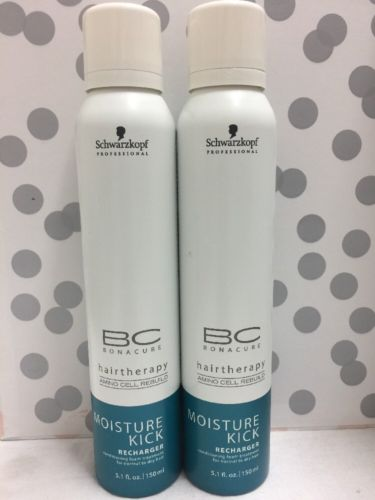2-Schwarzkopf BC Bonacure Therapy Moisture Kick Conditioner Normal Dry Hair NEW