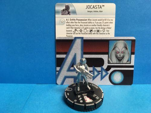 Heroclix Marvel Jocasta 039 Rare with AUID-007 Jocasta ID card