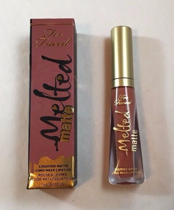 Too Faced Melted Matte Long-Wear Liquid Lipstick, Sell Out, Full Size, NIB