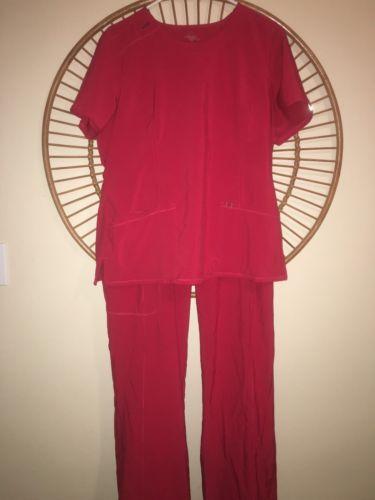 Cherokee Infinity Scrub Top And Bottom Set Large And Pants