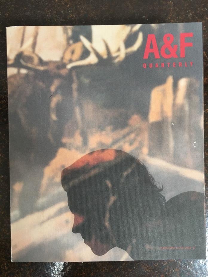 A & F Quarterly Catalogue - Christmas Issue 2003
