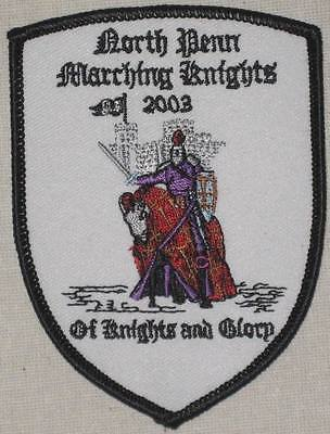 North Penn Marching Knights 2003 Patch - Pennsylvania
