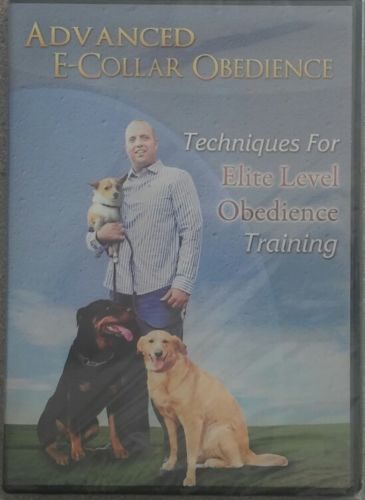 NEW! ADVANCED E COLLAR OBEDIENCE:TECHNIQUES FOR ELITE LEVEL OBEDIENCE TRAINING