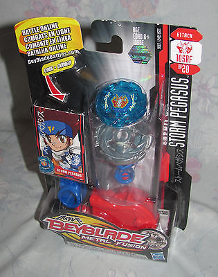 2009 Beyblade Metal Fusion Storm Pegasus 105RF BB28 Attack Moc New Sealed