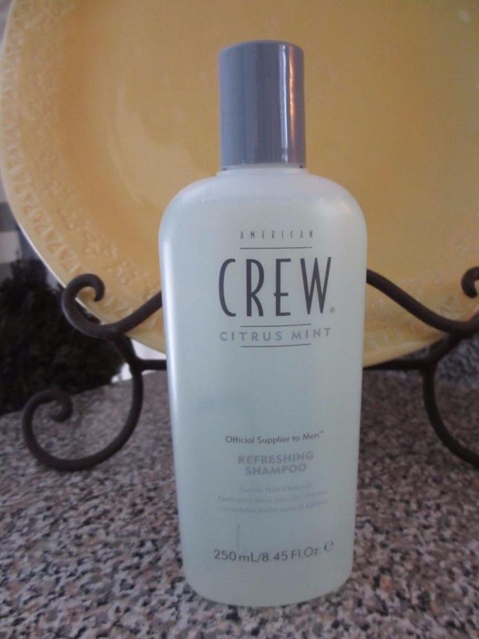American Crew Citrus Mint Refreshing Shampoo 8.45 oz