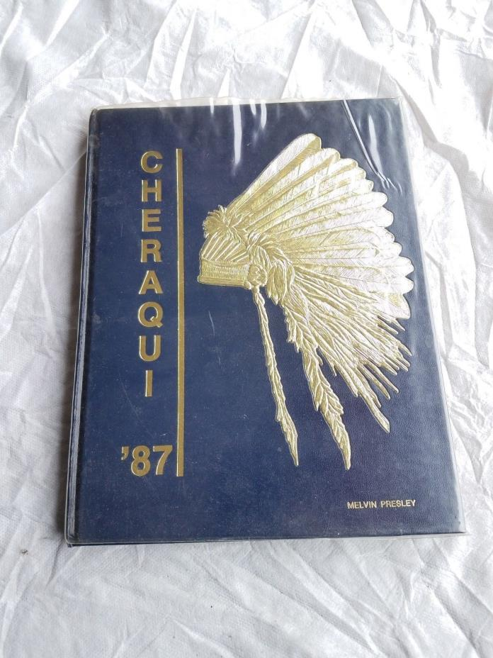 1987 Kendrick Cheraqui Yearbook