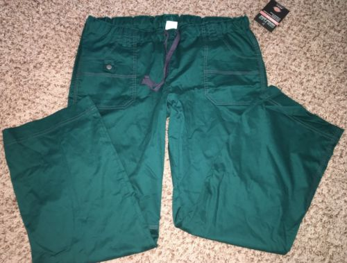 NWT Dickies Scrubs Pants Gen Flex Junior Fit Womens Large