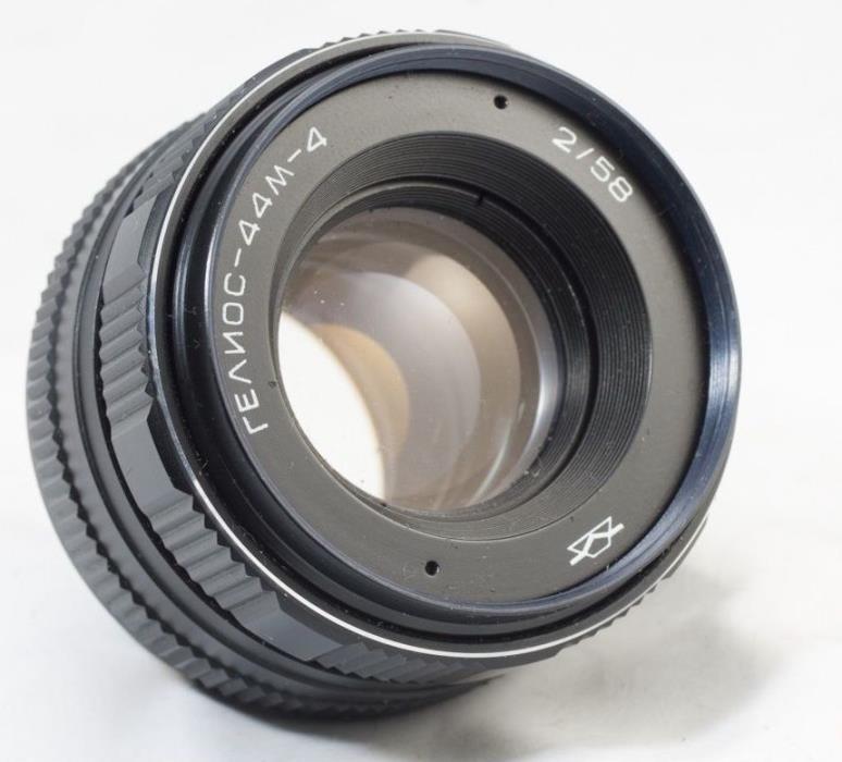 *SERVICED* HELIOS 44m-4 2/58 Russian Lens Canon EOS EF Mount 100D 80D 6D 7D 44-2
