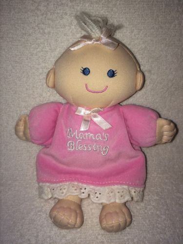 Mama's Blessing Pink Baby Doll Plush Toy 7
