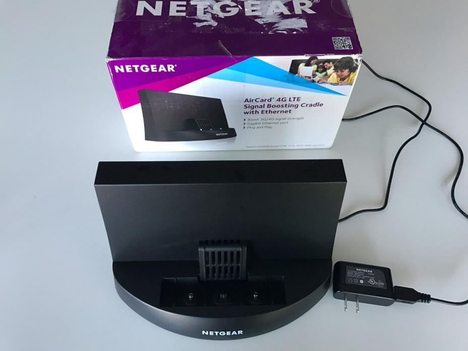 NETGEAR DC113A 4G LTE Aircard Signal Boosting cradle EXTREMELY RARE!