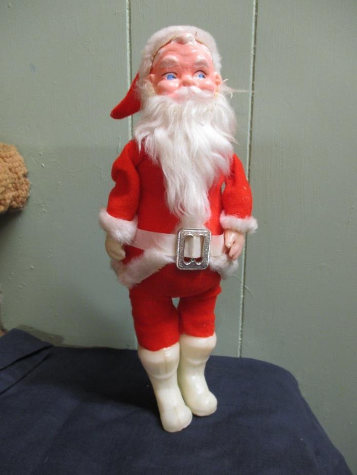 Vintage Christmas Santa Claus Doll Figure Ornament Decoration Japan 11 1/2