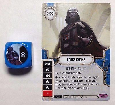 Star Wars Destiny Force Choke + Die