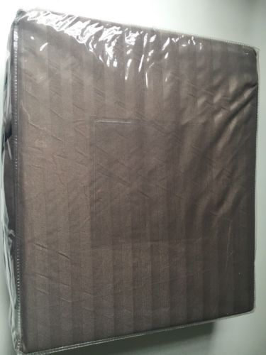 Full Size Sheet Set Brown Striped